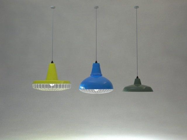 3d industrial pendant lights model