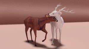 blend deers alby fama