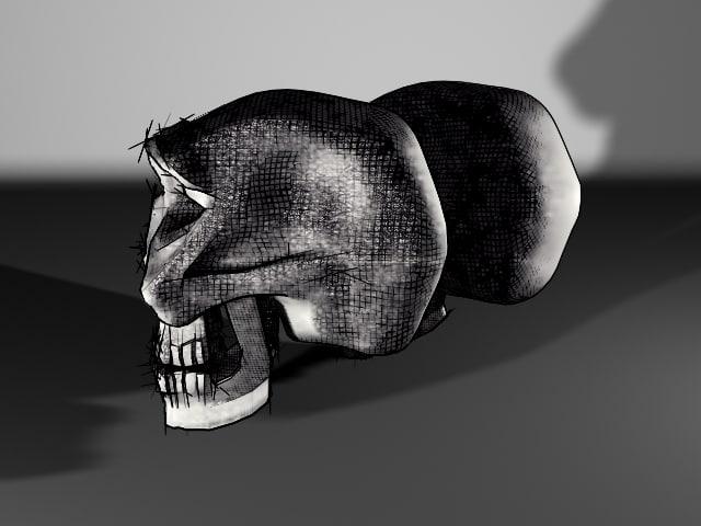 3d skull drafts