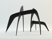 3ds alexander calder sculpture