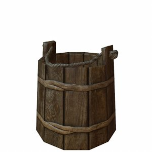 wooden bucket max