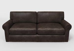 x leather sofa