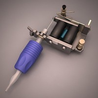 3d model tattoo machine