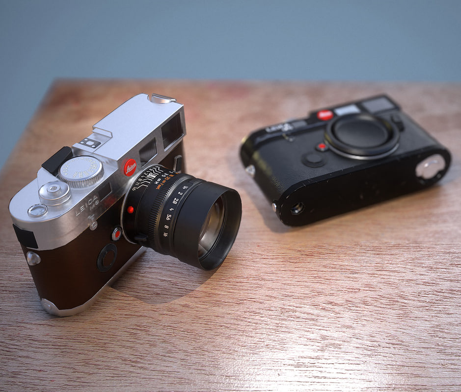 3d camera leica old