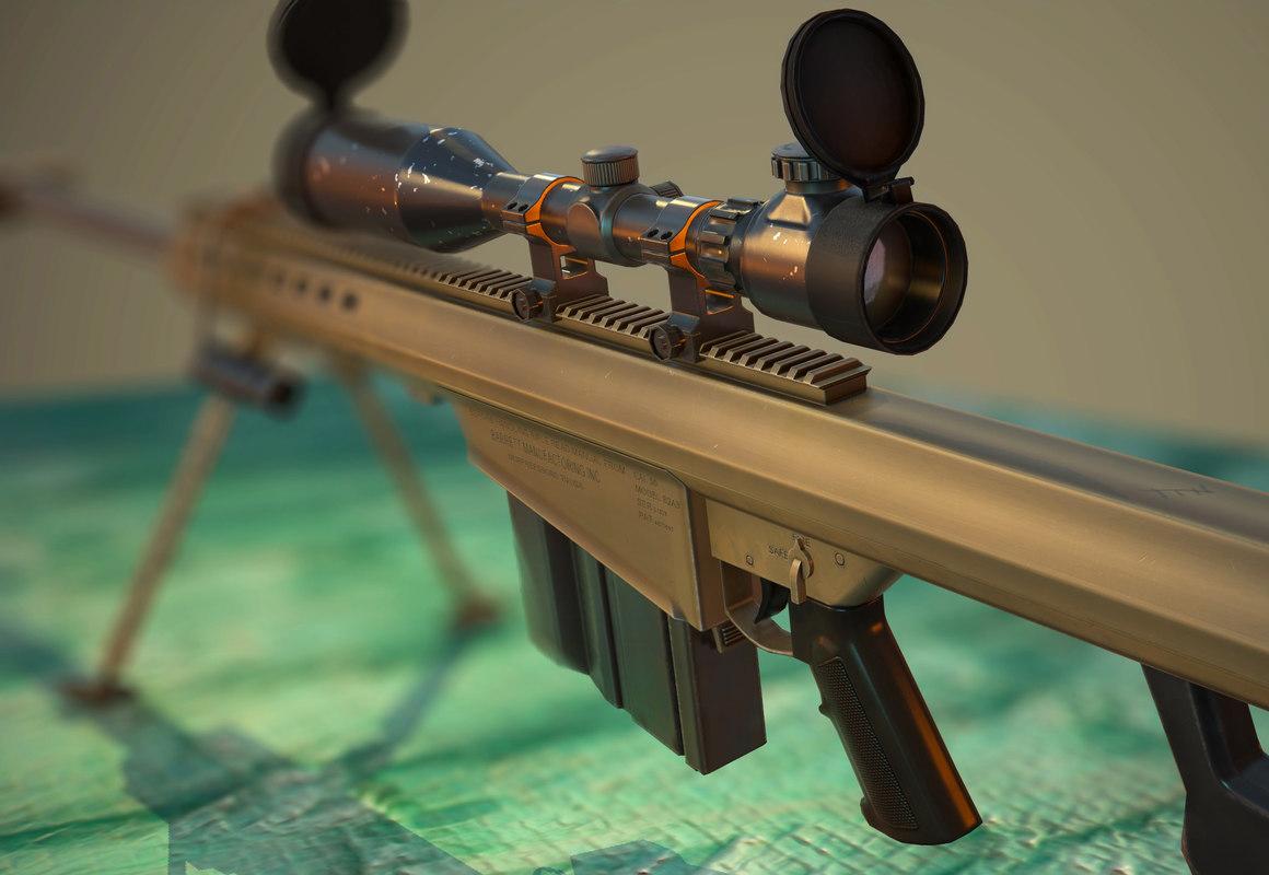 3d m82 sniper rifle