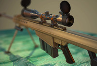 M82 Barret sniper rifle