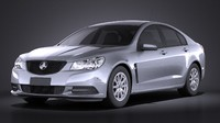 2014 holden vf 3d model