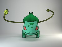 Bulbasaur Pokemon rigged
