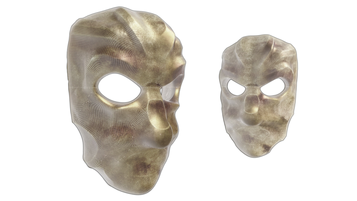 3d max ancient mask