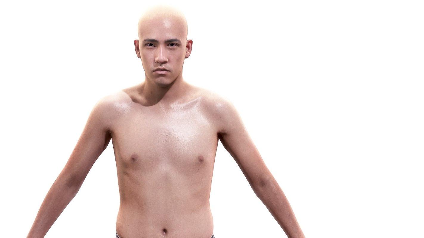 x man character body anatomy