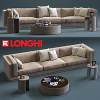 3d fratelli longhi mason 3-seates model