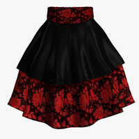 3d skirt