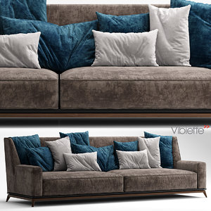vibieffe 3 seater 3d model