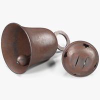 3d model bells old