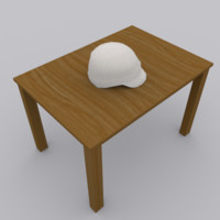 3d 3ds cap modeled blender