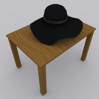 3d model of cap modeled blender