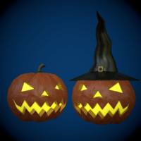 free halloween pumpkin 3d model