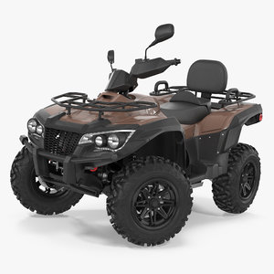 3d model of atv wheeler bike generic