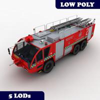 3d rosenbauer mk-8 truck lods