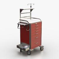 medical crash cart max