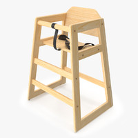 3d model baby chair