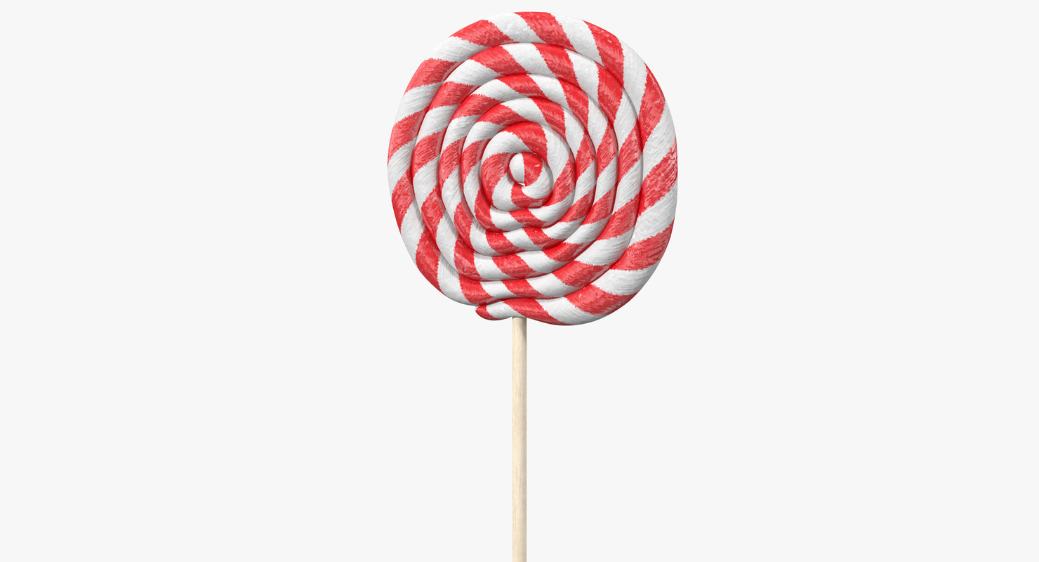 lollipop 2 3d max