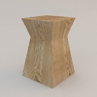 Nagato Side Table by Christian Liaigre