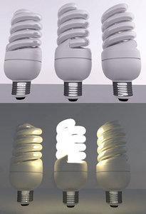 3ds energy saving lamp