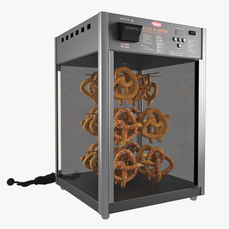 pretzel warmers 3d max