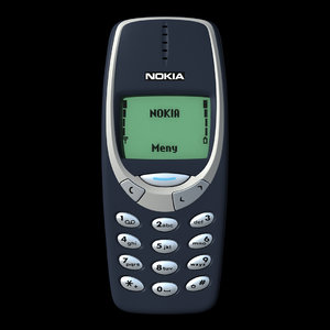 3d mobile phone nokia 3310