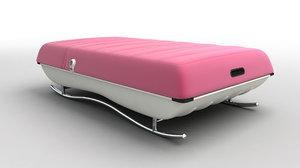 3d modern teen bed sofa