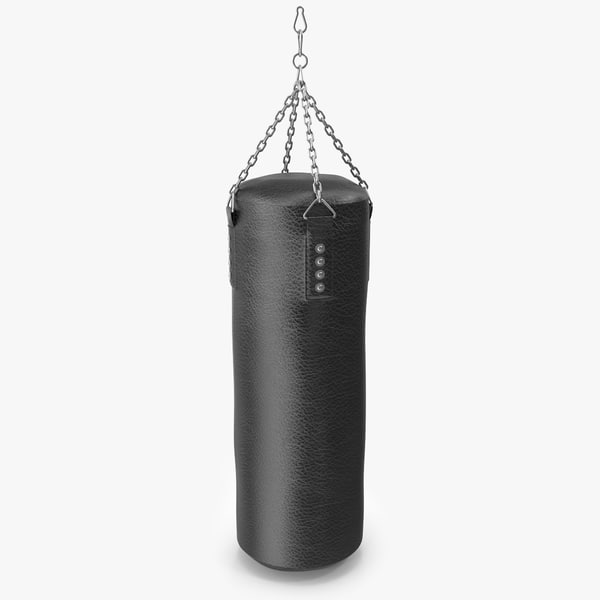 punch bag 3d max