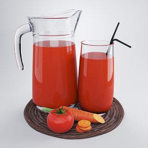 3ds jug vegetable juice
