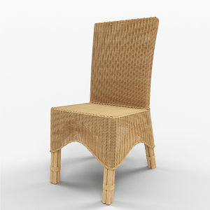 3d model manhattan dining chair
