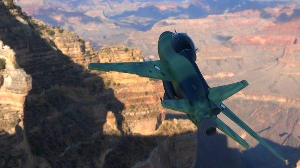 3d chengdu j7 fighter jet model