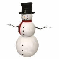 snowman snow man x
