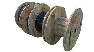 3d cable drums model