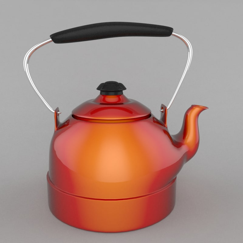 3d teapot pot tea model