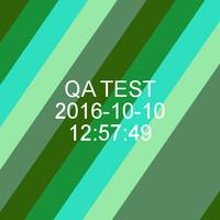 3d qa test asset model