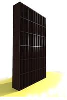 wine wall 3d model