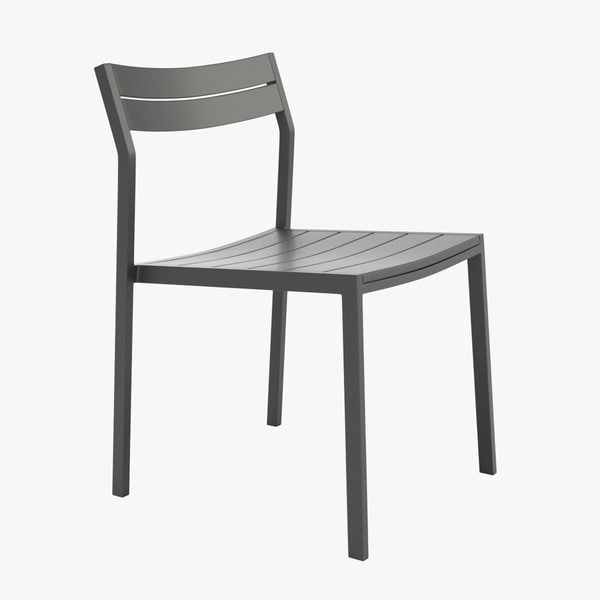 eos chair table case 3d model
