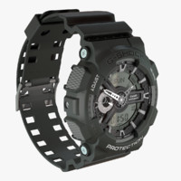 3d model casio g-shock ga-110c