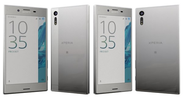 3d model sony xperia xz platinum