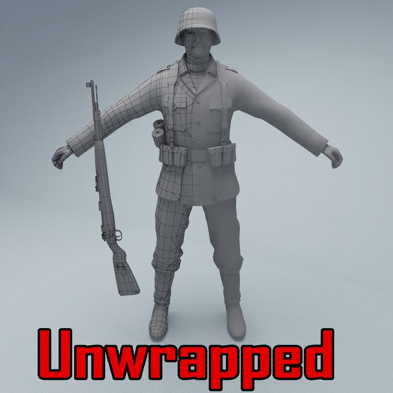 unwrapped soldier wehrmacht max