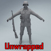 unwrapped soldier wehrmacht max