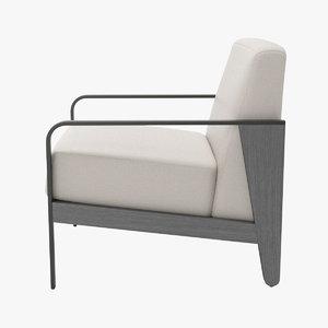 3d etosha lounge chair