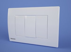 max power switch bticino livinglight