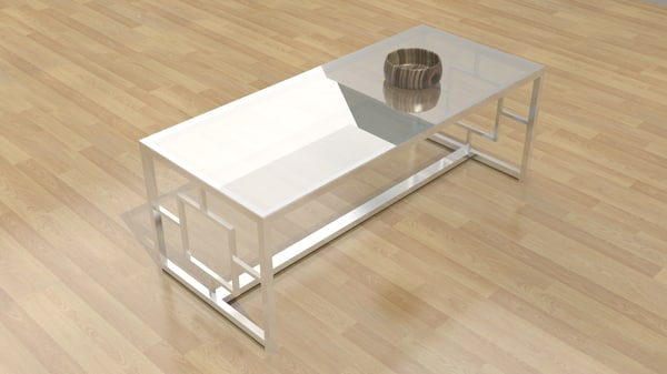 3d model kaster coffee table