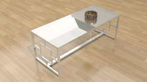 3d model kaster coffee table