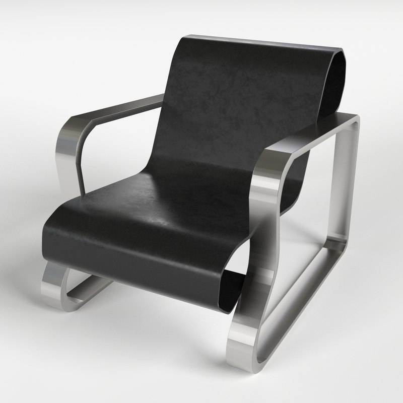 3d model of armchairs 3